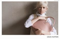 Michelle Williams stars with Capucines bag in third Louis Vuitton Campaign