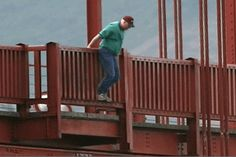 """It was 75 years ago, today, that Harold Wobber stopped at about the midpoint of the bridge, took off his jacket and vest, reportedly said, """"This is where I get off,"""" and hopped from the railing. Since then approximately 1,558 people have jumped from the bridge to their deaths."""
