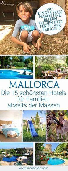 Du suchst noch nach dem idealen Hotel für deinen nächsten Urlaub mit der ganzen Familie auf Mallorca? Wir haben dir die schönsten Familienhotels abseits der Massen zusammen gestellt - egal, ob du Urlaub auf dem Bauernhof, am Strand oder im Inselinneren mit Kind verbringen möchtest, hier findest du die TOP-Empfehlungen #urlaub #mallorca #hotel #urlaubmitkind #urlaubaufdembauernhof #bauernhofhotel #fincahotel #fincahotels