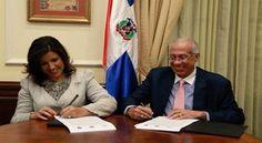 Margarita Cedeño y Fidias Aristy acuerdan desarrollar acciones conjuntas para reducir demanda de drogas