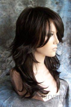 brown long hair layered | Long Layered Brown Hair Promotion-Shop for Promotional Long Layered ...