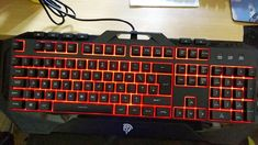 REVIEW EASYSMX W8810 BACKLIT RUBBER DOME KEYBOARD