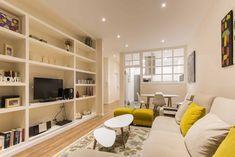 Este es el fantástico resultadodeuna reformade estilo nórdicoen A Coruña tras cuatro meses de cambios y la demolición completa del piso de 80 m².