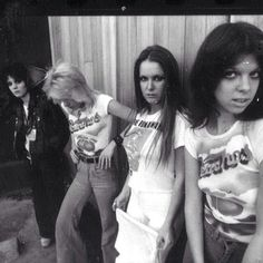 #therunaways at #peachesrecords in 1977