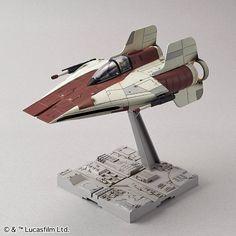 Bandai x Star Wars 1/72 A-WING STARFIGHTER: Box Art, Official Images, Info release http://www.gunjap.net/site/?p=301124