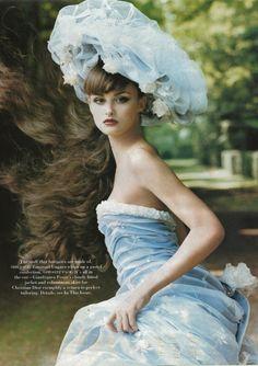 Emanuel Ungaro design. Vogue Magazine mid 1990s