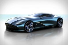 View Photos of the Aston Martin DBS GT Zagato New Cars 2019 new cars 2019 We enlightened you concerning Aston's arrangements for a Zagato-themed two-for-one Aston Martin Vanquish, Aston Martin Vantage, Aston Martin James Bond, Carros Aston Martin, Aston Martin One 77, Racing Wallpaper, Cars Vintage, Classic Sports Cars, Red Bull Racing