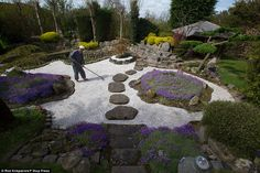 With no previous experience of gardening, the 76-year-old former Buddhist monk began the h...