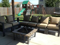 Giant outdoor sectional | Do It Yourself Home Projects from Ana White | Outdoor Furniture Tutorials | Pinterest | Outdoor sectional Ana white andu2026 : ana white sectional - Sectionals, Sofas & Couches