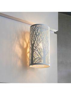 d8318bfa30b1 BuyJohn Lewis & Partners Devon Wall Light, White Online at johnlewis.com