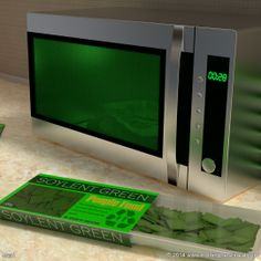 Meal #3d #3dart #art #digitalart #computergraphics #nothinghereisreal #blender #blender3d #b3d #meal #soylent #soylentgreen #microwave