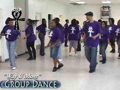 "Step / Line Dance - ""Way You Move"""