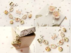 Bracelet and Earrings Spring in Kyoto by ~allim-lip on deviantART