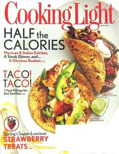 Buy any 4 of our cooking magazines and get free shipping. Cooking Light Magazine, Half The Calorie Recipes, May 2012 Vol.26 No.4