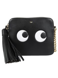 ANYA HINDMARCH CROSSBODY EYES RIGHT IN CIRCUS. #anyahindmarch #bags #shoulder bags #leather #crossbody #