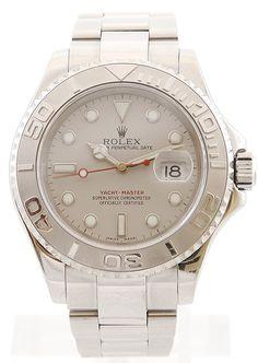 "Rolex Yacht-Master - men luxury watch steel with date - Montredo Online Shop - worn in ""Two and a Half Men"""
