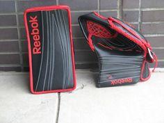 Hockey Goalie Equipment, Goalie Gear, Goalie Gloves, Goalie Pads, Goalie Stick, Cool Store, Golf Clubs, Reebok