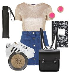 """""""Notitle_6"""" by yuline ❤ liked on Polyvore featuring Topshop, Miss Selfridge, adidas Originals, Dorothy Perkins, Dot & Bo, The Cambridge Satchel Company, Marc by Marc Jacobs, BackToSchool, dressy and polyvorecommunity"""