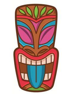 Bricolage totem Koh Lanta : des idées simples et originales Hawaiian Party Decorations, Hawaiian Luau Party, Hawaiian Tiki, Hawaiian Birthday, Hawaiian Theme, Decoration Hawai, Totem Koh Lanta, Totem Tiki, Tiki Hawaii