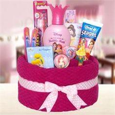 Disney Pricess Gift Ideas   Towel Cakes for Children