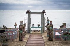 Vintage and whimsical on the beach make a fun combination #DreamsRivieraCancun