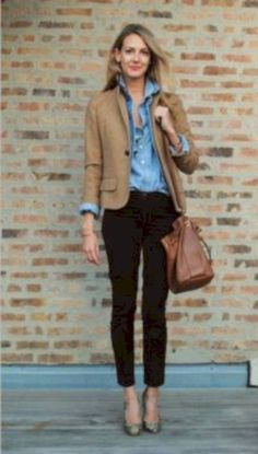 Trendy business casual work outfit for women (12) #FashionStylesforWomen
