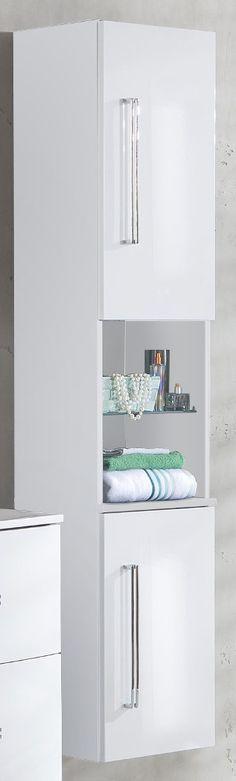 Hängeschrank Weiss/ Grau Woody 13-00279 Grau / Weiss MDF Modern