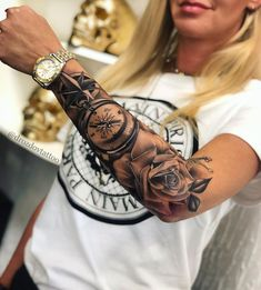 drozdovtattoo – foot tattoos for women