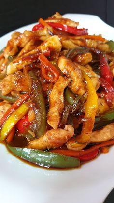 Easy Cooking, Healthy Cooking, Cooking Recipes, Healthy Recipes, Guisado, Fajitas, Fish And Seafood, Asian Recipes, Food To Make