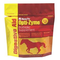 Manna Pro 0099490338 Opti-Zyme Microbial Digestive Supplement for Horse, 3-Pound by Manna Pro. $19.99. Contains naturally occurring viable yeast, enzymes and beneficial bacteria. Aids digestion of starch, sugars, protein and fiber. Easy to feed. For healthy horses. Promotes optimal digestion. Manna pro 0099490338 opti-zyme microbial digestive supplement 3 lb is a source of naturally occurring viable yeast, enzymes and beneficial bacteria that help promote optimal diges...