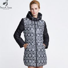Snowclassic Winter Jacket Women Fashion Padded Coat Thick Long female parka women winter jacket big sale 15311A (32696518312)  SEE MORE  #SuperDeals