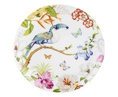 Servizio tavola in porcellana Tropicana, 18 pz Plate Art, Home Living, Plates, Ceramics, Tableware, Licence Plates, Ceramica, Dishes, Pottery