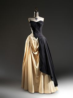 The Charles James holdings include an extraordinary collection of sewn muslins and flat patterns that represent James' design process from original concept to the finished garment.  At his behest, three of his most devoted clients, Millicent Huttleston Rogers, Mrs