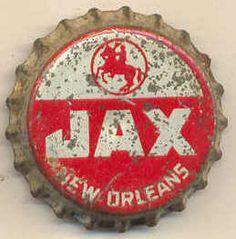 Vintage Jax Beer bottle cap by Sean Clancy, via Flickr