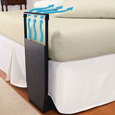Kicking the sheets to the end of the bed? Try Bed Fan. It tucks between the top and bottom sheets to cool your body-the source of the heat-instead of the entire house so you can save on cooling costs.