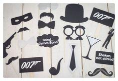 Nieuwe pakketten op photoboothprops.nl James Bond - 007 - Photo Booth Props - Fotohokje