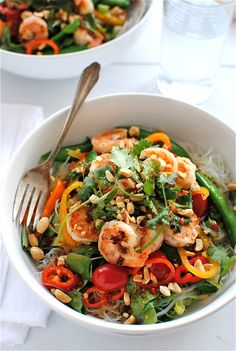 泰國蝦沙拉 • thai shrimp salad