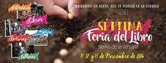 Se viene la Feria del Libro de Sierra de la Ventana! 11, 12 y 13 de noviembre muchísimoslibros, ta...