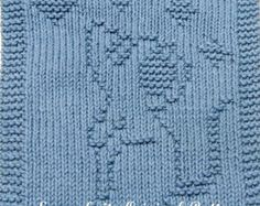 Due to being a instant download all SALES are final but I will be happy to address any questions that you might have. Thank you for your interest in my Knitting Patterns. Pattern includes easy to follow instructions. Cloth knitting patterns are great for washcloths, dishcloths, cloths, or a blanket square. Materials Needed: Straight knitting needles, size US 7 (4.5mm) 100% Cotton Medium/Worsted Weight yarn 80 yards Darning needle needed for finishing. Stitches: knit & purl. Skill...