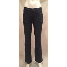 "Seven 7 Trouser Jean Dark Boot Cut Denim Pant 27 Seven 7 Trouser Jean Dark Boot Cut Denim Pant 27   Seven For All Mankind  Waist 15"" flat  Inseam 32"" Excellent Preowned Jean 7 for all Mankind Jeans Boot Cut"