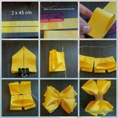 Pinwheel bow or clip - Salvabrani