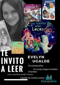 Evelyn Ugalde nació en Costa Rica en 1975, es periodista, promotora cultural, escritora y editora de Clubdelibros. Fundó la revista literaria y empresa de fomento de lectura Clubdelibros en el 2001. Tiene 6 libros publicados y muchos de ellos en el extranjero también.