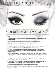 Urban Decay Naked Smoky Palette...Smoky Reality Star Look
