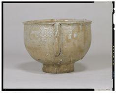 Bowl  White glaze ceremonial vessel  Korea, Joseon dynasty, 16th c.  Natiomal Museum of Tokyo