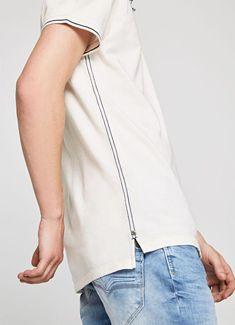 Mens Polo T Shirts, Mens Tees, Best T Shirt Brands, Knit Fashion, Mens Fashion, Off White Fashion, Polo Shirt Design, Fashion Details, Fashion Design