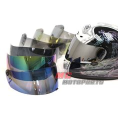 Various color options for Shoei X-Eleven helmet for replacement. Helmet Visor, Visors, Motor Parts, Motorcycle Helmets, Motorcycle Accessories, 1 Piece, Me Too Shoes, Spirit, Color