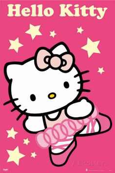 Hello Kitty - Dancer Photo Poster