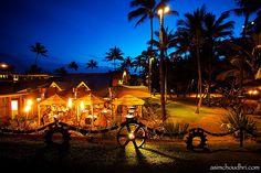 Mama's Fish House, Maui.  Polynesian seafood, spectacular setting--paradise doesn't get any more paradisiac.