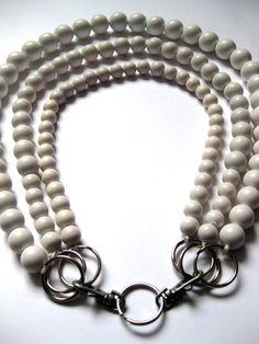 VMSom Ⓐ Cage: Snow Balls  necklace