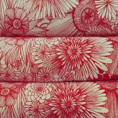 Just a few organic cotton & hemp scarves left! #organic #hemp #scarves #flowers #redandwhite #pretty